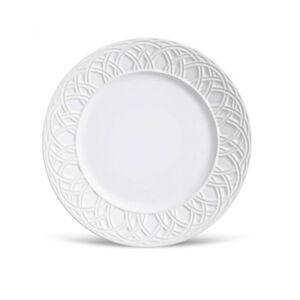 Prato Raso Cestino Branco