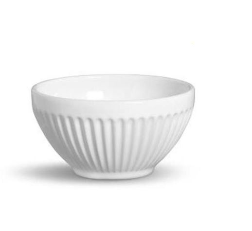 Bowl Plissê Branco 161 ml