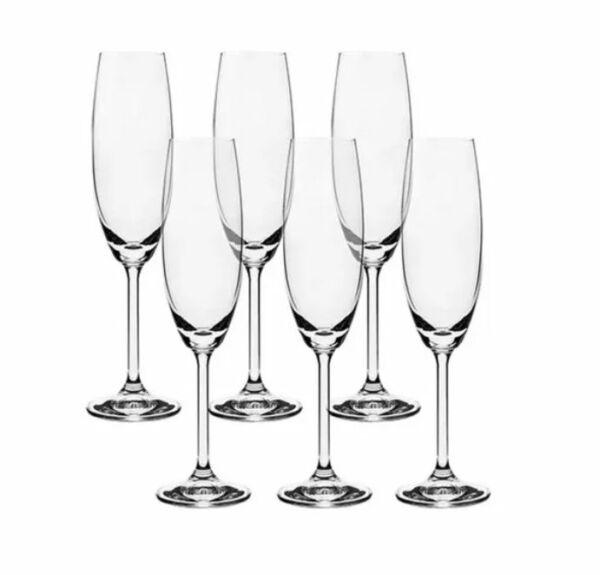 Taça Cristal Champagne Bohemia Helga 230ml