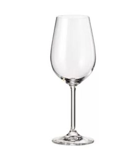Taça Cristal Vinho Branco Helga 350ml
