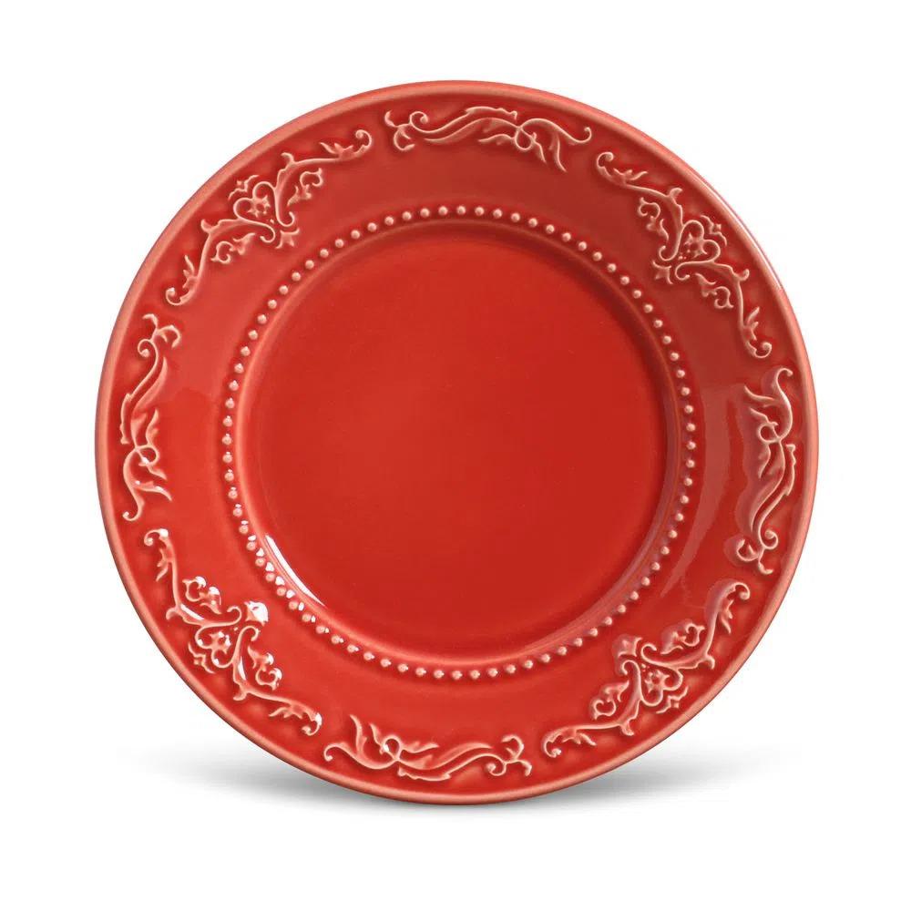 Prato-Sobremesa-Acanthus-Vermelho
