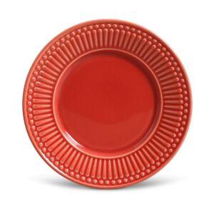 Prato Sobremesa Roma Vermelho