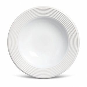 Prato fundo Argos Branco 22cm
